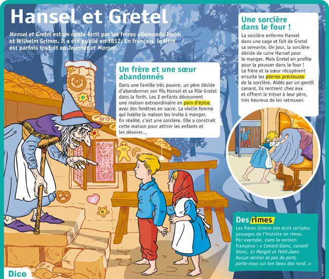 Fiche exposés : Hansel et Gretel