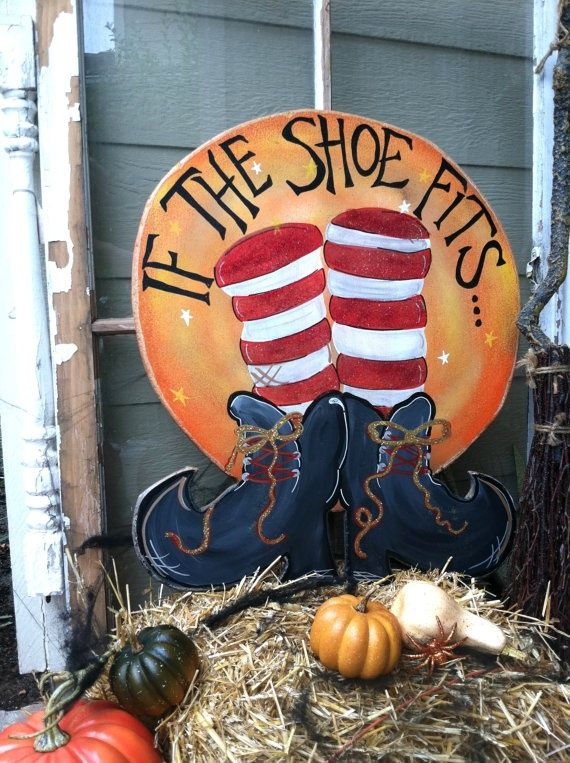 Tole halloween yard art | Found on etsy.com