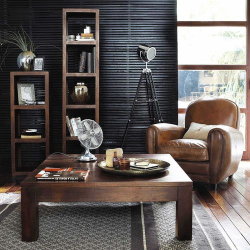 colonne table en manguier bengali fauteuil oxford maisons du monde nos ind modables. Black Bedroom Furniture Sets. Home Design Ideas
