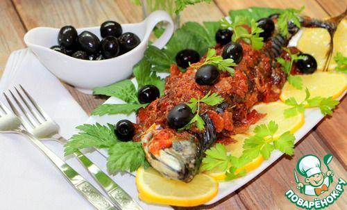 Скумбрия плаки по-критски - кулинарный рецепт