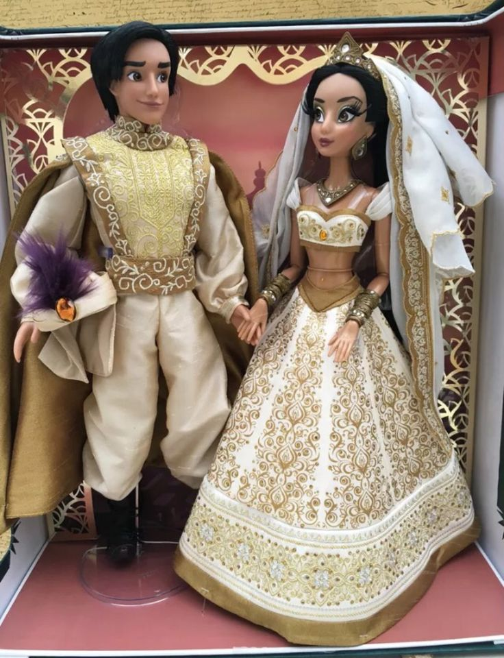 Disney Dolls! — Some HQ Photos of the Wedding Jasmine & Aladdin...
