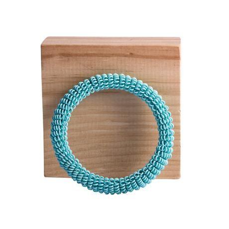 thumbnail for Spiral bangle - baby blue