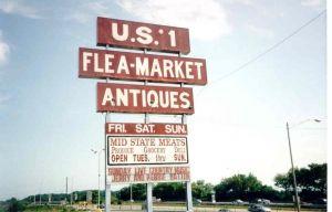 Flea Market: Top 20 Flea Markets in the US (on a map)