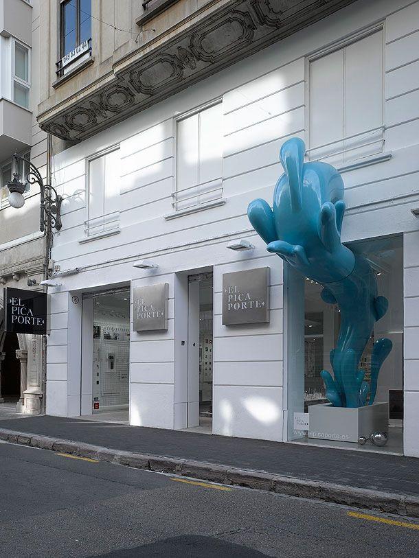 Showroom El Picaporte en Valencia, por Hernández Arquitectos