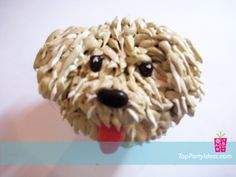puppy cupcakes This site has four different types of puppies with directions for each.