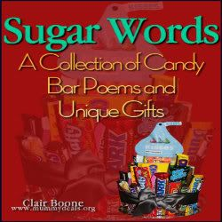 This collection of Candy Bar Poems are easy to make. There are 19 and they come with full instructions and photos.  There's retirement, graduation, baby shower and even a @Yankee candle one! #candybarpoem