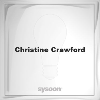 Christine Crawford: Page about Christine Crawford #member #website #sysoon #about