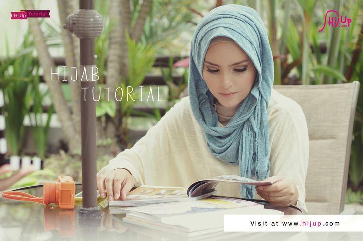 """Hijab Tutorial Special Ramadhan """"Ngabuburit"""" with Zahratul Jannah"""