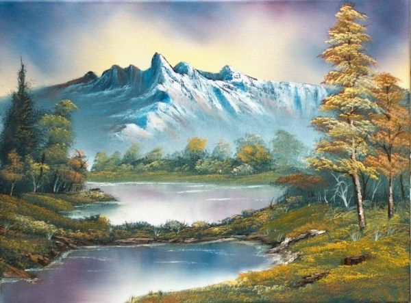 learn how to paint with bob ross