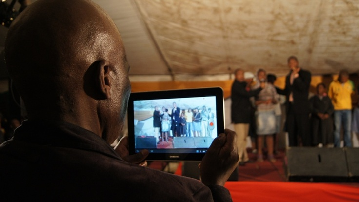 MTHATHA - This Pastor decided to capture the moment on his iPad!