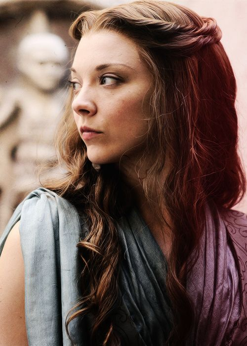 Natalie Dormer as Persephone. Goddess of Spring.
