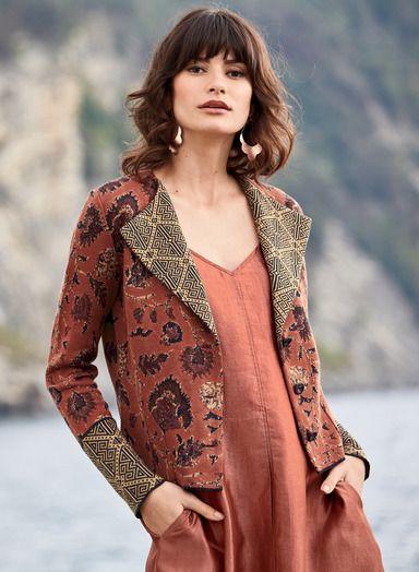 Jacket Knit 18th Pima An Gauge VersatileFine Borders Our Deftly f7I6gybvmY