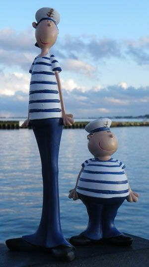 Sailor Pair just whimsical and fun