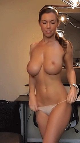 tan naked girl stripping video