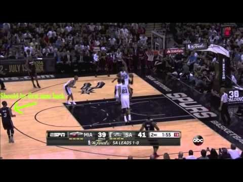 Video Evidence Proves D-Wade Playing Terrible Defense in Finals- http://img.youtube.com/vi/IakSy1cO9ss/0.jpg- http://getmybuzzup.com/video-evidence-proves-d-wade-playing-terrible-defense-finals/- By Josh Dhani It has been a very rough go for Dwyane Wade in this year's NBA Finals against the San Antonio Spurs. The Miami Heat guard showed tons of age and wear-and-tear in last year's playoffs. He improved significantly this postseason, but he all of a sudden returned