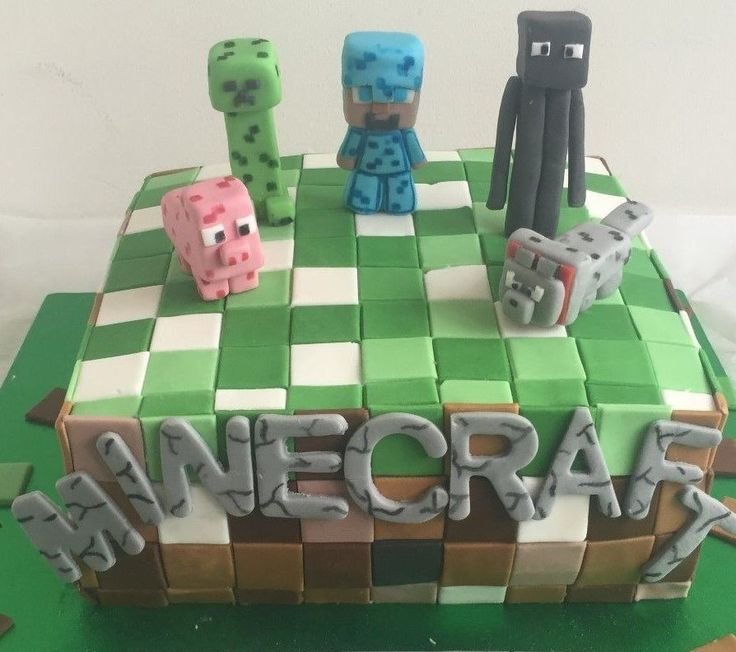 Minecraft Cake Decorations Uk : 1000+ ideas about Minecraft Cake Toppers on Pinterest ...