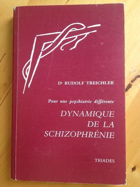 #psychiatrie : Dynamique De La Schizophrénie - Pour Une Psychiatrie Différen - Rudolf Treichler.  Rudolf Treichler, né en 1909, fait des études de médecine et soutient une thèse de doctorat. Puis il se spécialise en neuropsychiatrie. Il exerce pendant huit ans à la clinique neurologique de Stuttgart, et pratique en cabinet pendant dix ans. De 1959 à 1974, il est médecin chef de la clinique Friedrich-Husemann en Forêt-Noire. Il organise des cours de psychiatrie en Allemagne et à l'étranger et…