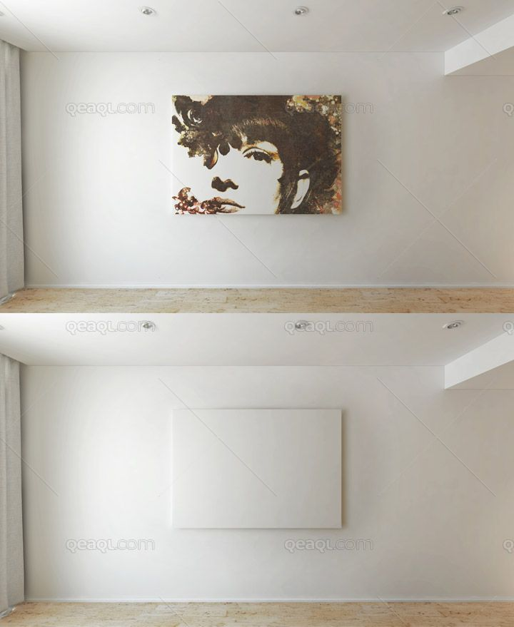 Canvas Mock Up In House This PSD File Uses Smart Object Feature So