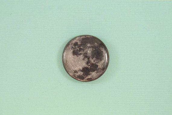 1 full moon button by GhostOfJupiter on Etsy, $1.50