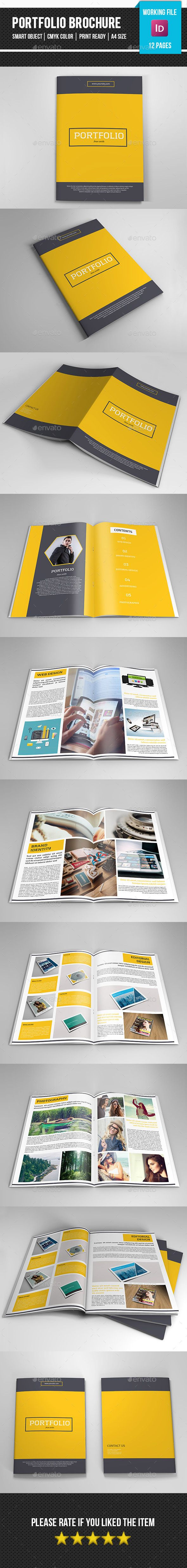 Multipurpose Portfolio Brochure Template #design Download: http://graphicriver.net/item/multipurpose-portfolio-brochurev261/11807864?ref=ksioks