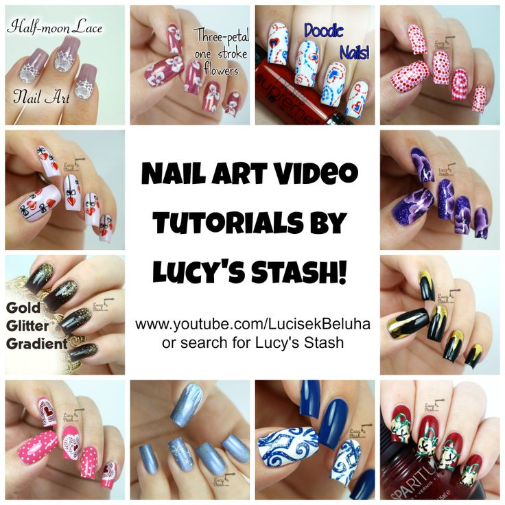 131 best tutorials by lucys stash images on pinterest nail art please re pin to help me spread the word about my newly updated youtube channel prinsesfo Images