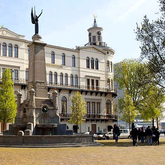 Rotterdam - Wereldmuseum  Willemskade
