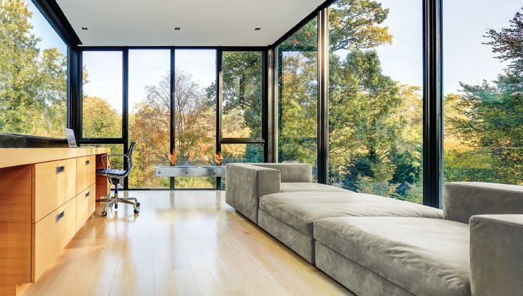 With Marvin Contemporary Windows and Doors create open spaces that seamlessly connect interior spaces to the beautiful landscapes that surround them.