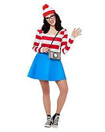 Adult Wenda Dress - Where's Waldo