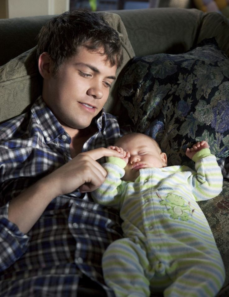 Freshman Father. This movie is so amazing. And the baby is so cute! The dads not to bad either ;)