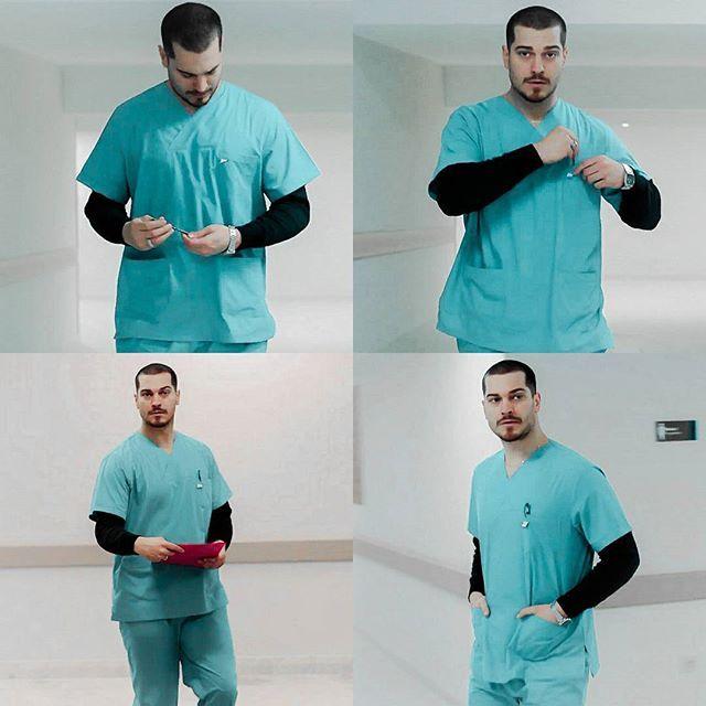 Sarp as a Handsome Doc  #içerde Episode 15 #cagatayulusoy  #Отвътре