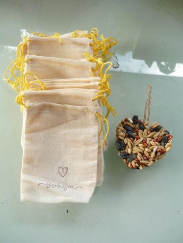 Want to create sweet birdseed favors for your wedding? Try out DIY project birdseed favors for a step by step tutoria;l