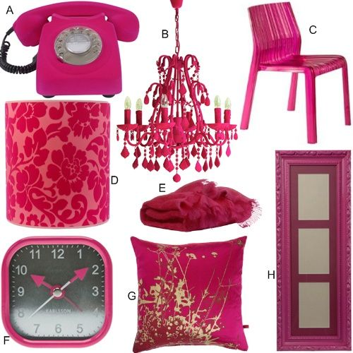 The 151 best images about COLOR Pink Home Decor on Pinterest