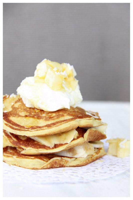 Coconut Spelt Pancakes