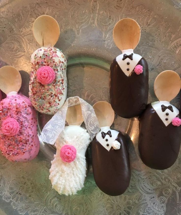 Bride groom and wedding party cakesiclescake pops etsy