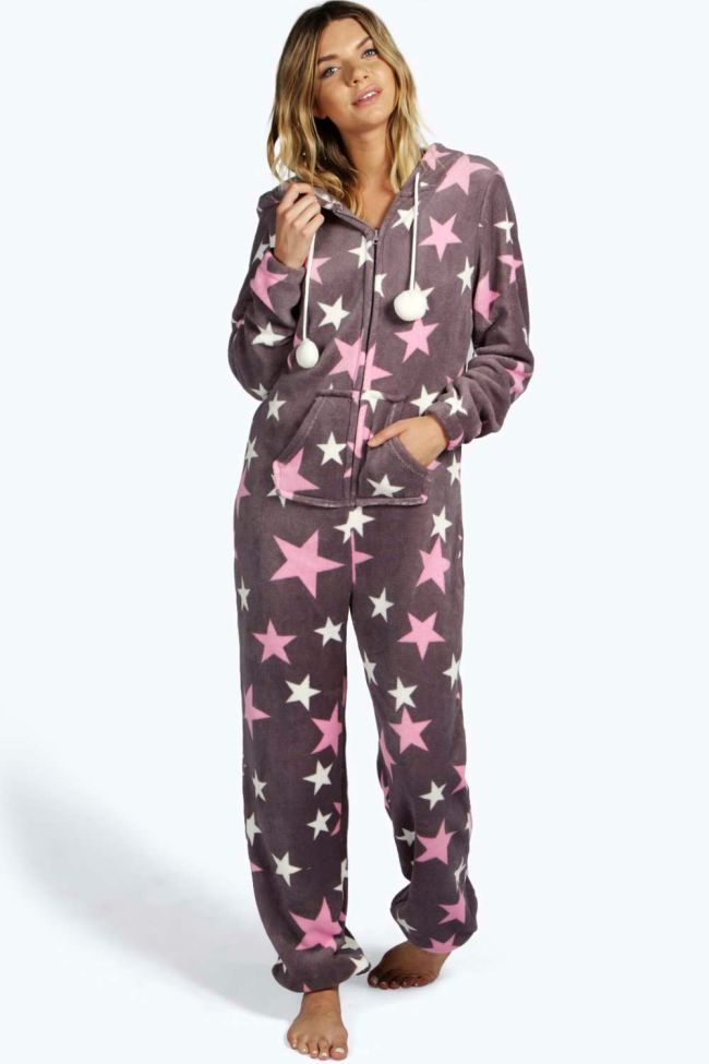 Star Soft Fleece Womens #Onesie Australia Oneises, UK ...