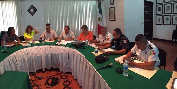 Coordinan acciones de seguridad para el Circuito Mundial Profesional de Voleibol de Playa