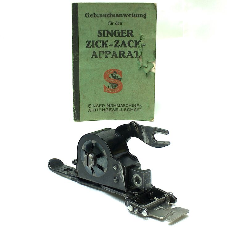 Extremely Rare German Singer 1356 Zig-Zag Foot Attachment ZigZagger by 3FTERS by 3FTERS on Etsy