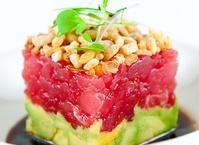 Ahi Tuna Tartare w/ Avocado, Crispy Shallots & Soy-Sesame Dressing