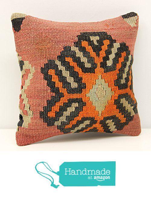 Handmade kilim pillow cover 12x12 inch (30x30 cm) Throw Kilim pillow cover Accent Small Pillow cover Decorative Kilim Cushion Cover from Kilimwarehouse https://www.amazon.com/dp/B07464Z6WF/ref=hnd_sw_r_pi_dp_dzrDzbXRRGYZF #handmadeatamazon