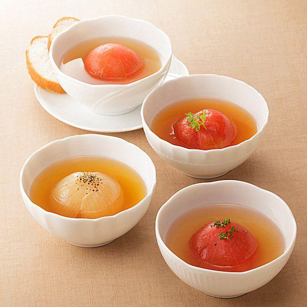 まるごとトマトとまるごとオニオンをセットで。【まるごとスープセット】