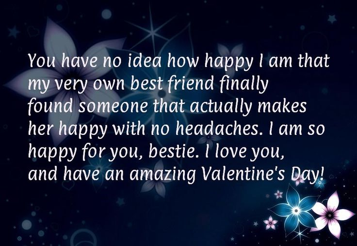 happy valentine my best friend