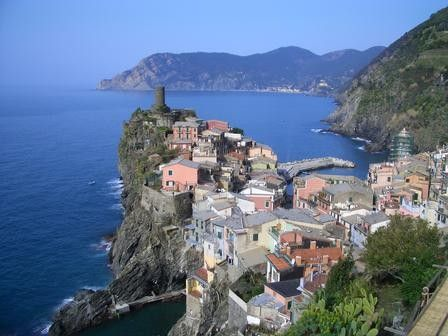 HA!! i've been here.. this exact spot!!     Vernazza , Sinque Terre , Italy