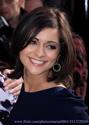 TV weather girl Lucy Verasamy does have the most gorgeous, well cut hair. I couldnt find any rear haircut images but, from the back, the cut is divine!