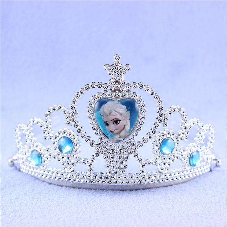Сказочную принцессу замер. N диадемы корона детские жевательная резинка девушки Hairband эльза дизайн высокое качество хорошо продается дети глава ювелирные изделия XRN123 купить на AliExpress