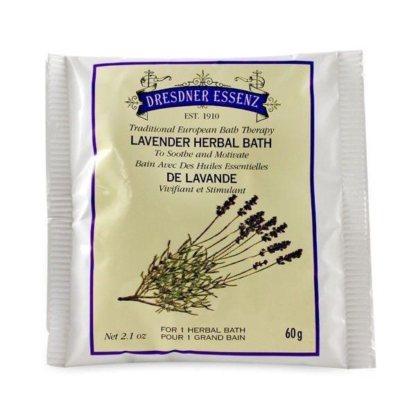 Dresdner Essenz Lavender Herbal Bath Packet