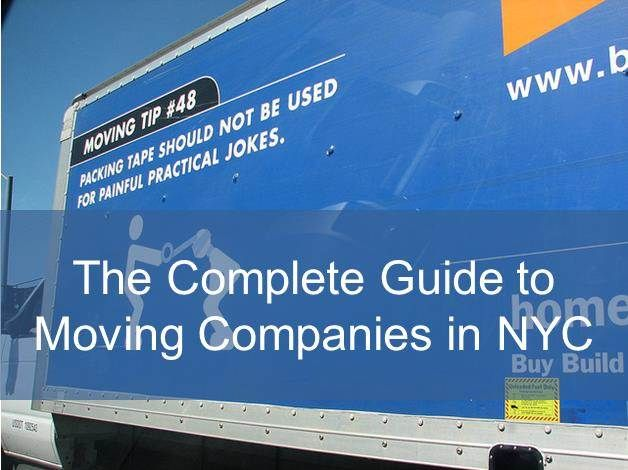 Moving Companies NYC - The Complete Guide - Moving to New York Guide