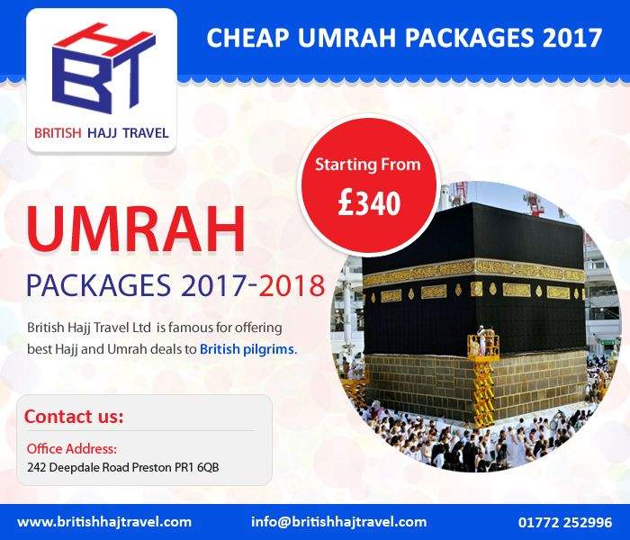5 Star Umrah Packages 2018 from UK