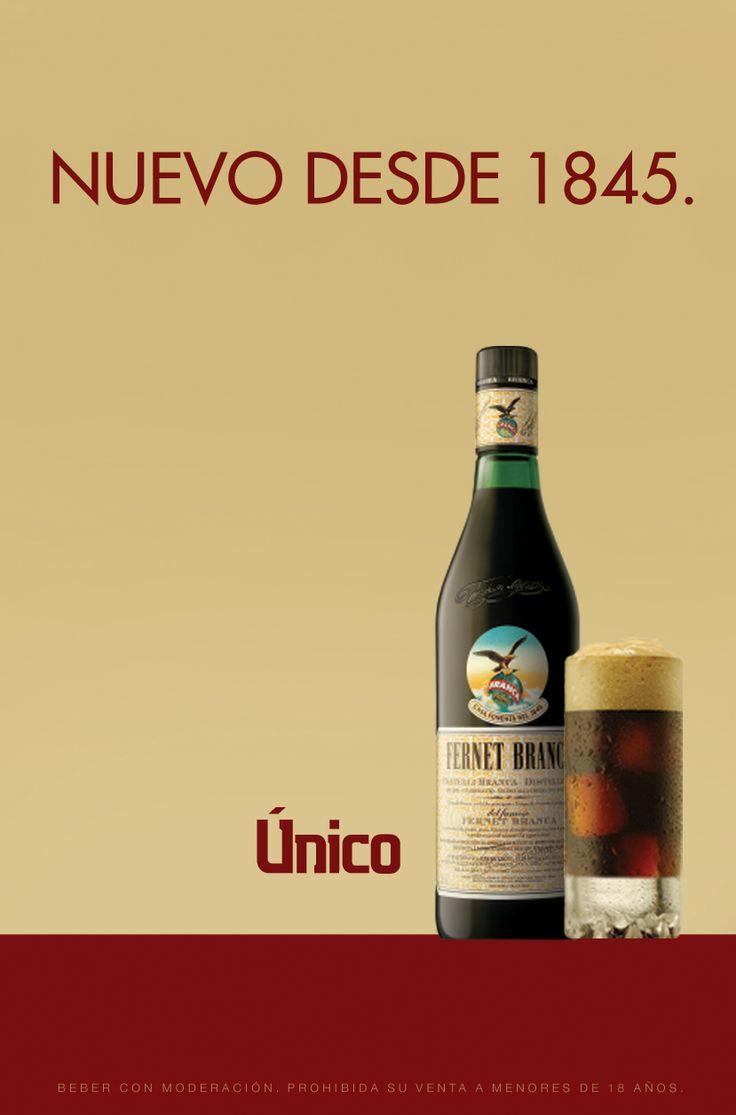 Fernet Branca. Nuevo desde 1845.