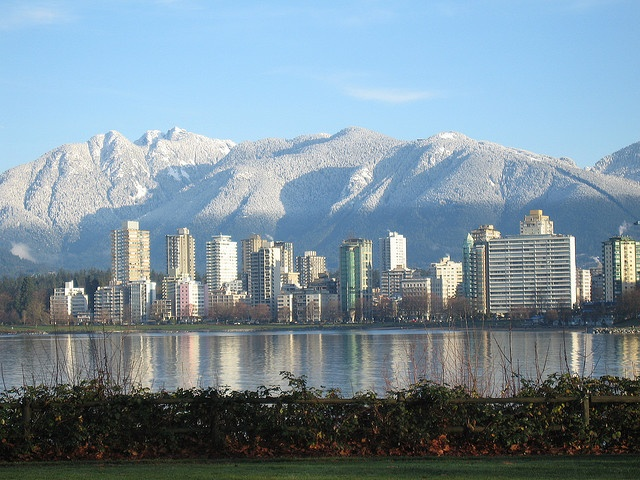 Vancouver - home for 39 years. My growing up, grown-up place. The most beautiful city in the world.