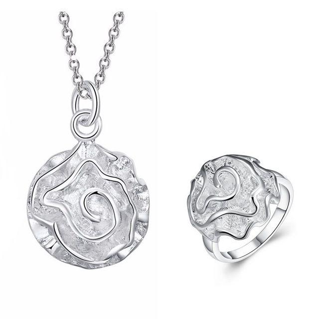 dclaration bijoux en argent ensemble femelle grand artificielle fleurs collier anneaux de mariage turc bijoux ensembles - Traiteur Turc Pour Mariage